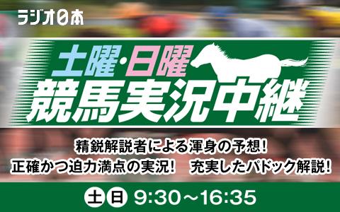 日曜競馬実況中継(2)