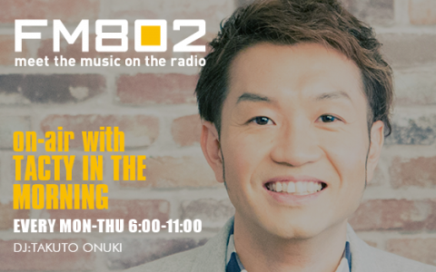 on-air with TACTY IN THE MORNING(9時台)